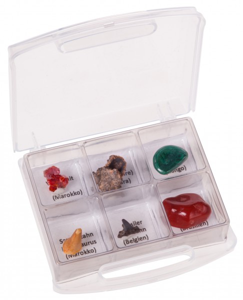 Gesteinsproben Sammlung