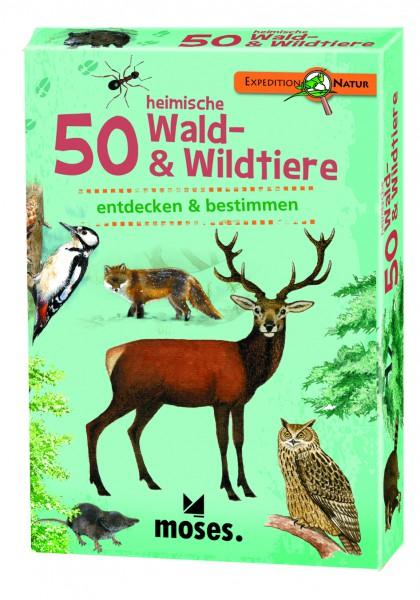 50 Wald- und Wildtiere