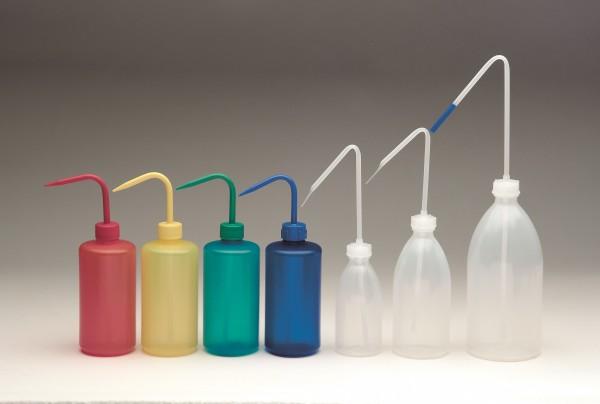 farbige Spritzflasche
