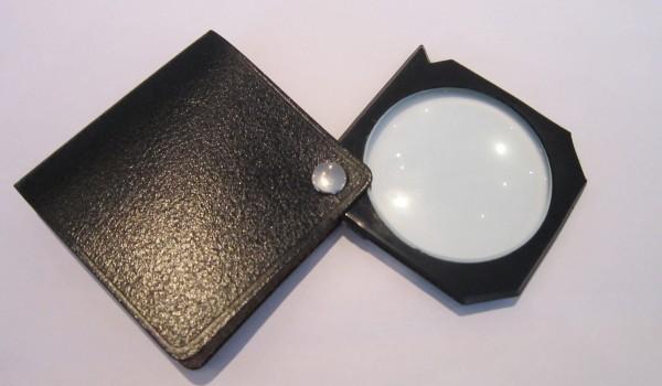 Einschlaglupe, Linsengröße 43,5mm