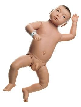 Säuglingspflegebaby, männlich