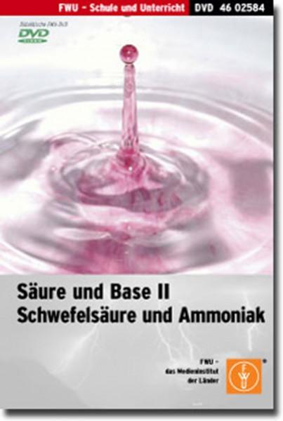 DVD - Säure und Base II - Schwefelsäure und Ammoniak