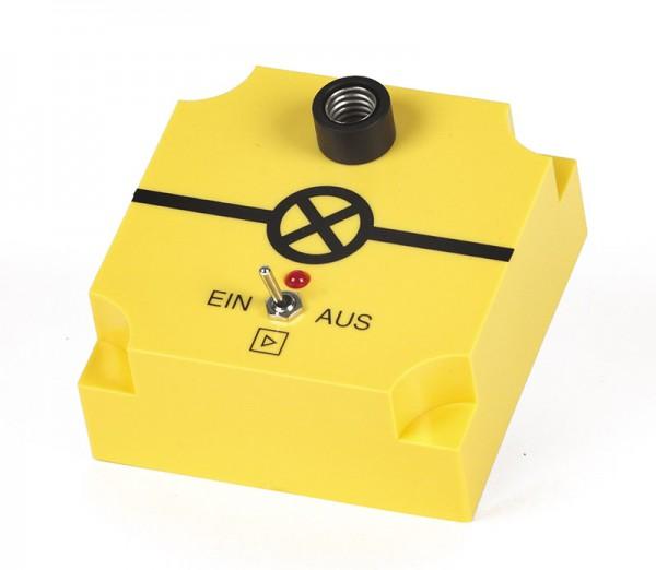 STBD Lampenfassung E10 mit Transistorverstärkung