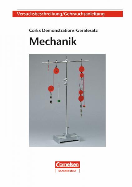 """Versuchsanleitung """"Demonstrations-Gerätesatz Mechanik"""""""