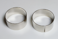 Metallringe für Thomson'schen Ringversuch