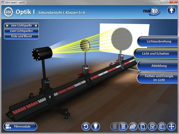 Optik I - real3D Software-Copy