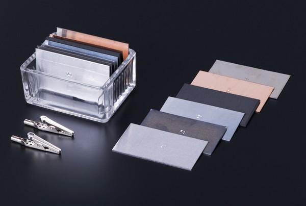 Elektrodensatz zur Elektrodenchemie