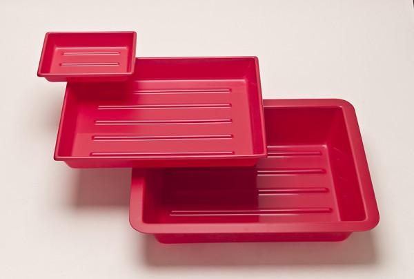 Fotoschale aus PVC, niedrige Form