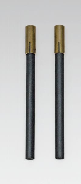 Paar Kohlelektroden GL 18