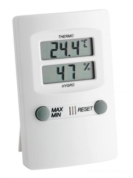Thermo-Hygrometer, elektronisch, Temp: -15 bis +50°C, 30-90% rel. Feuchte