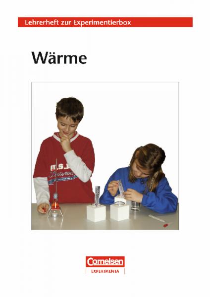 """Lehrerheft """"Wärme"""" mit Kopiervorlagen"""