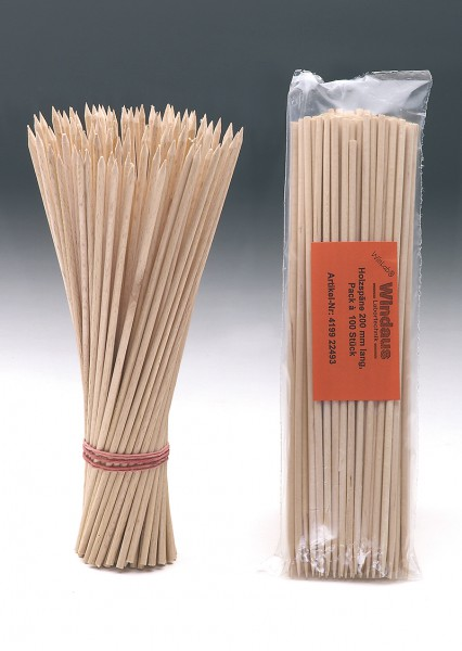 Holzstäbchen für die Spanprobe
