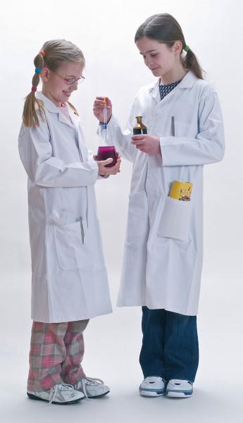 Bedrucken des Laborkittels
