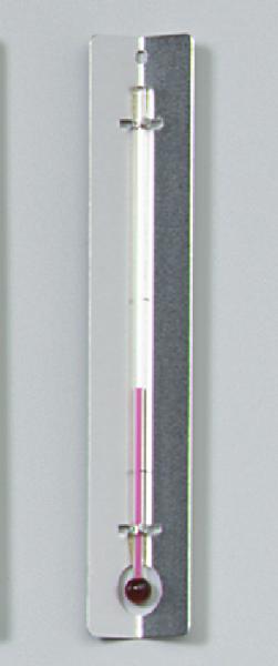 Thermometer mit Metallwinkel, ohne Graduierung