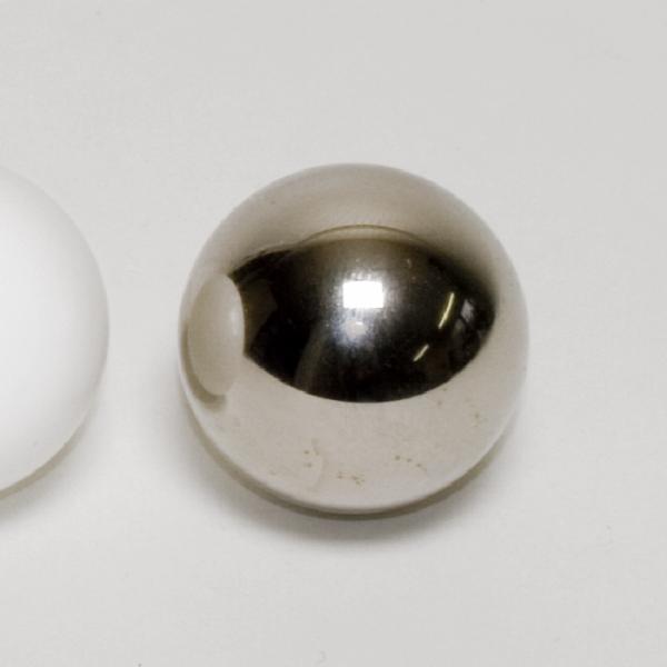 Stahlkugel, vernickelt, 25 mm Ø