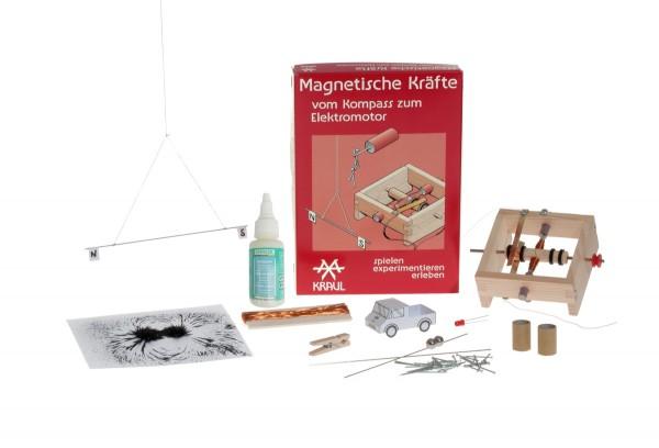 Magnetische Kräfte, Experimentierkit