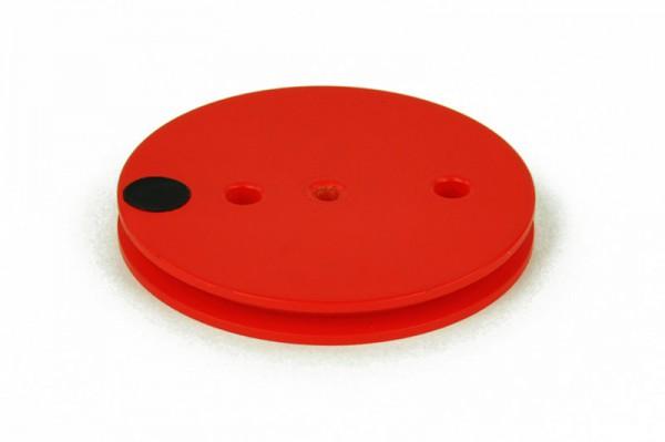 Riemenscheibe D=50 mm, rot