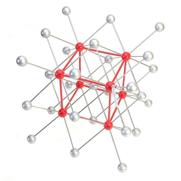 Kristallgittermodell: Caesiumchlorid