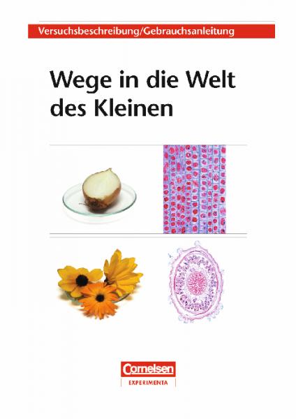 """Versuchsanleitung """"Wege in die Welt des Kleinen"""""""