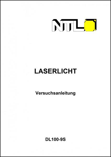 """Versuchsanleitung """"Laserlicht"""", Buch s/w"""