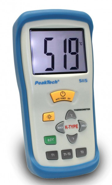 2-Kanal Digital Thermometer, K-Typ