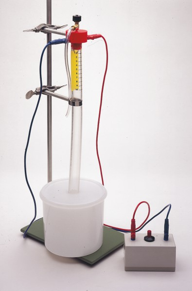 Zündfunkengeber für Sicherheits-Eudiometer nach Schager