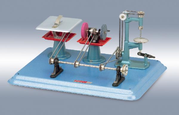 Modellkörper trapezförmig, magnethaftend, L=200 mm, 60°/30°