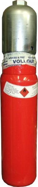 Stahlflasche mit 2L - Rauminhalt Helium 4.6