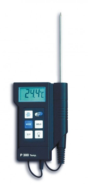 Digitalthermometer in Profi-Qualität, -40 +200°C, Min-Max-Funktion, mit Kalibrierschein