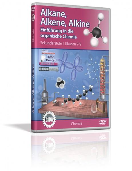 DVD - Alkane, Alkene, Alkine - Einführung in die organische Chemie