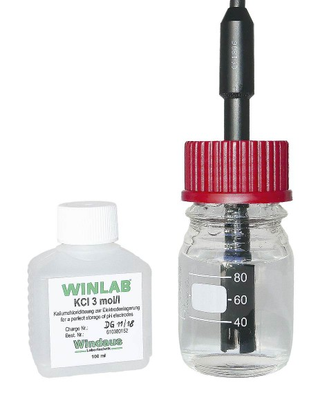 Elektroden Aufbewahrungsflasche