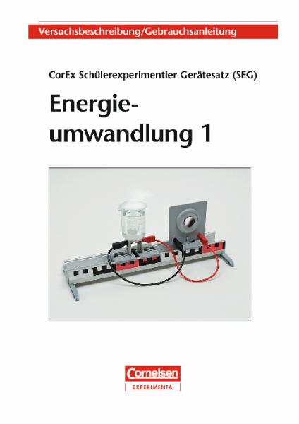 """Versuchsanleitung """"SEG Energieumwandlung 1"""""""