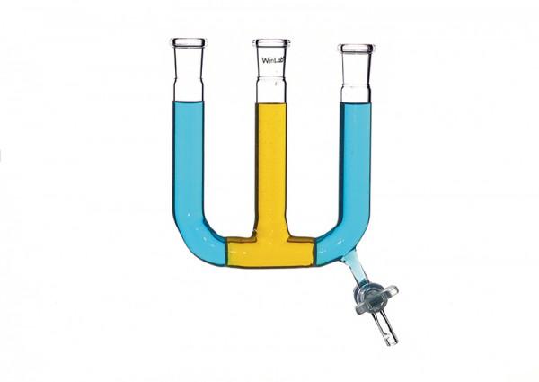 Doppel-U-Rohr mit 2 Fritten