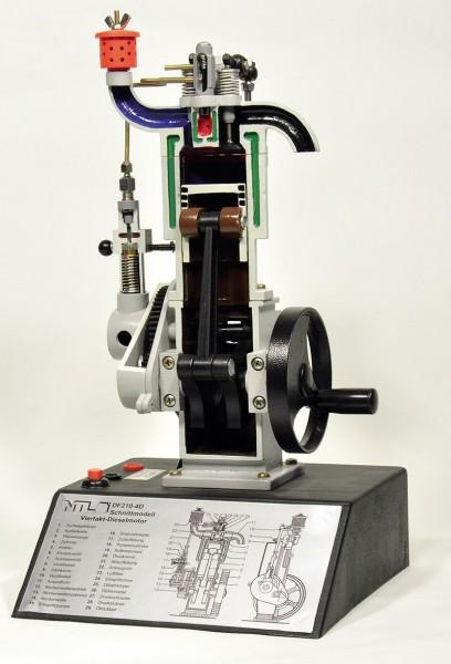 Viertakt-Dieselmotor, Schnittmodell