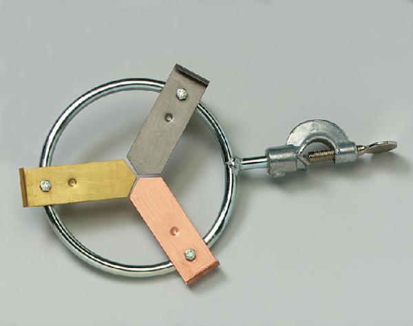 Lichtleiter, C-förmig, magnethaftend