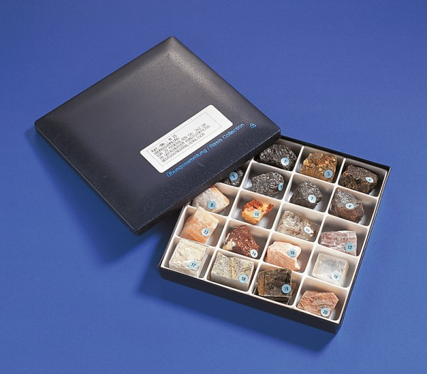 Mineralien-Set für Anfänger
