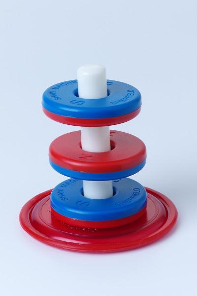 Großes Schwebendes Magnet - Ring Set