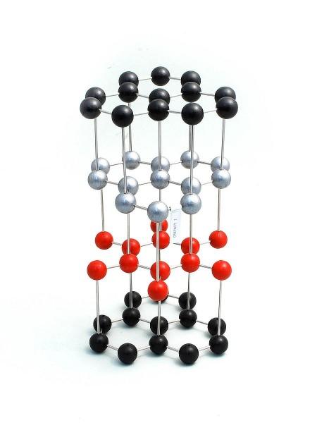 Kristallgittermodell Graphit I