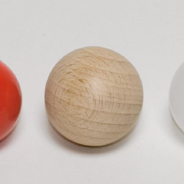 Holzkugel, naturfarben, 25 mm Ø