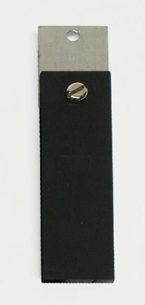 Kohleelektrode mit Klemmblech