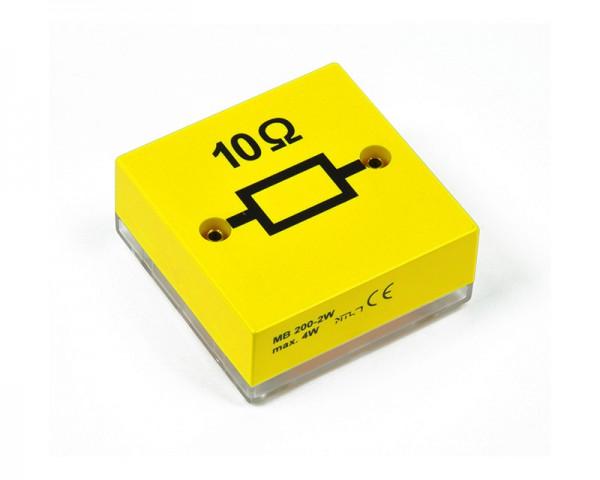 MBC Widerstand 10 Ohm, Belastbarkeit 10 W, Toleranz: ± 1 %