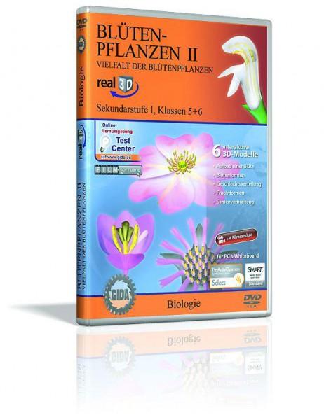 Blütenpflanzen II - real3D Software