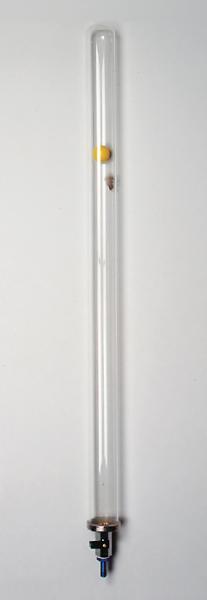 Fallröhre, Glas
