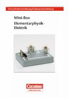 "Versuchsanleitung ""Mini-Box Elektrik"""
