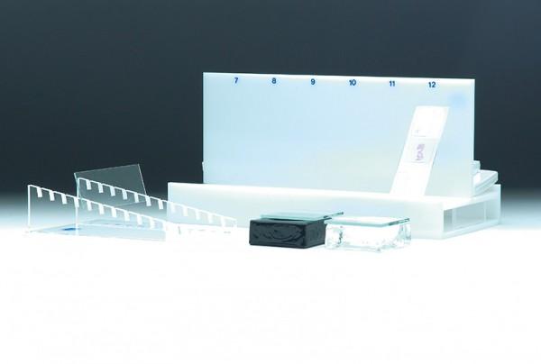 Trockenständer mit 2 Packungen Fließpapier
