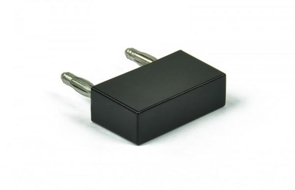 """Brückenstecker """"compact"""", Steckerabstand: 25 mm, Maße:36x12x20 mm"""