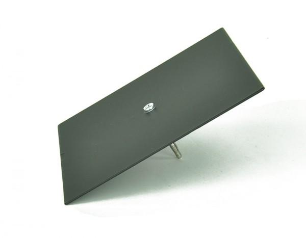 Klangfigurenplatte mit Stecker, quadratisch