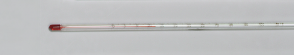 Thermometer, –10/+110 °C (rote Füllung)