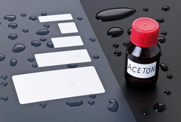 Wasserfeste Polypaper Etiketten