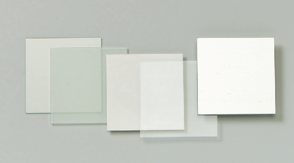 Kunstglasscheibe, transparent, 90/90 mm